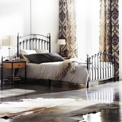 Кованая кровать Гримоадель 1