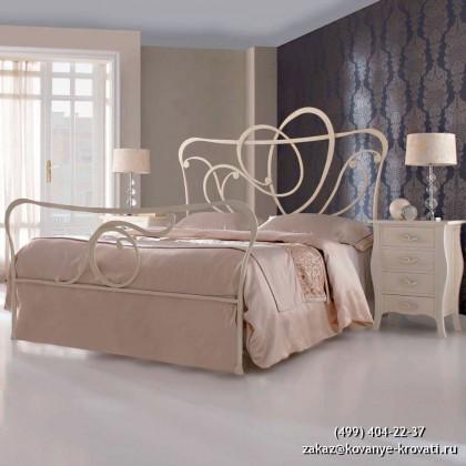 Кованая кровать Гуннио 1
