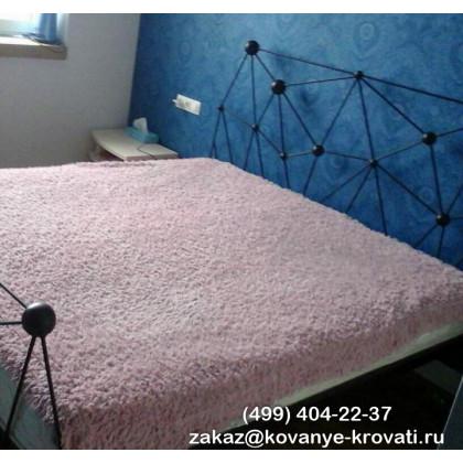 Кованая кровать Хлоя 1