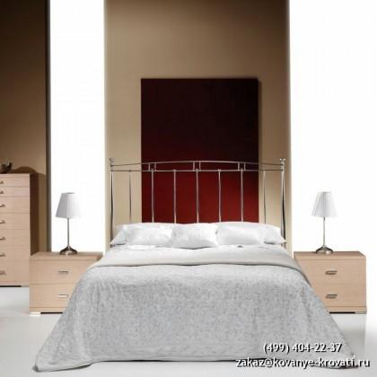 Кованая кровать Иголиндис 1