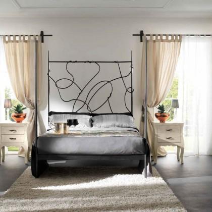 Кованая кровать Илгард 1