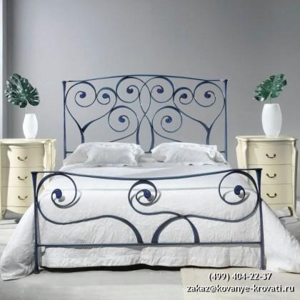 Кованая кровать Изанмира 1