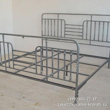 Кованая кровать Изанури 1