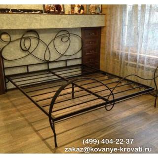 Кованая кровать Каннес