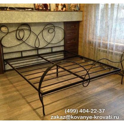 Кованая кровать Каннес 1