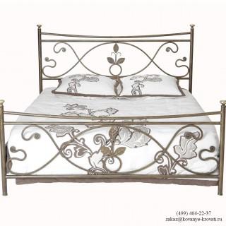 Кованая кровать Лиатруд