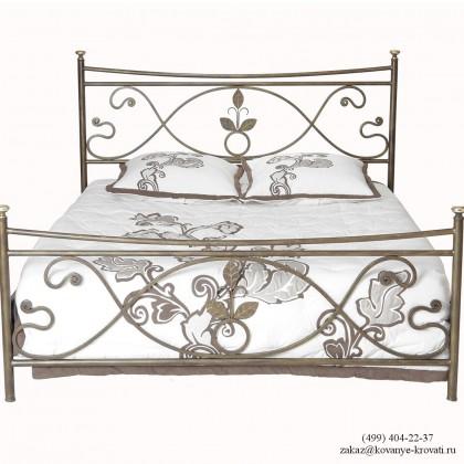 Кованая кровать Лиатруд 1
