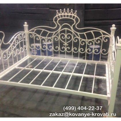Кованая кровать Марианна 1