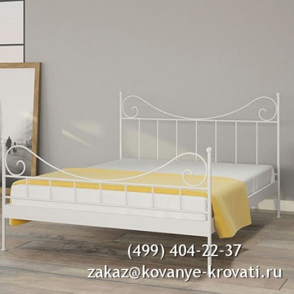 Кованая кровать Нигиль 1