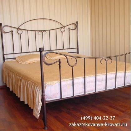 Кованая кровать Одигерд 1