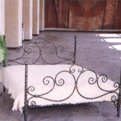 Кованая кровать Оргрид 1