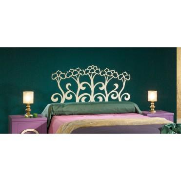 Кованая кровать Шестейн