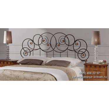 Кованая кровать Сольгри