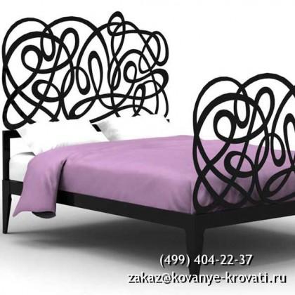 Кованая кровать Танза 1