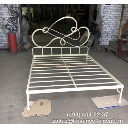 Кованая кровать Траст 1