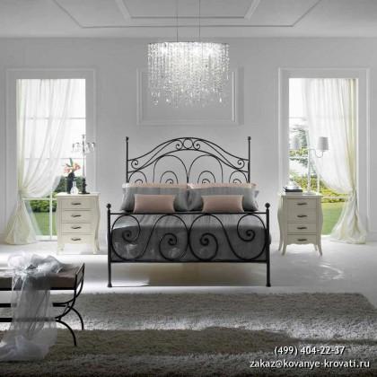 Кованая кровать Угну 1