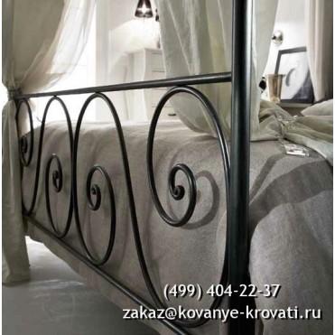 Кованая кровать Угну