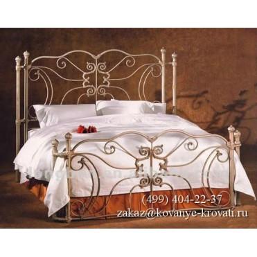 Кованая кровать Зиели