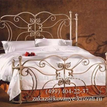 Кованая кровать Зиели 1