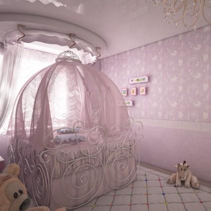 Кованая кровать Грифда 1