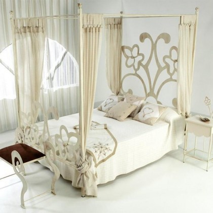 Кованая кровать Андира 1