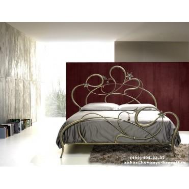 Кованая кровать Мергот