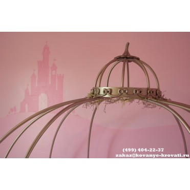 Кованая кровать Ортеа