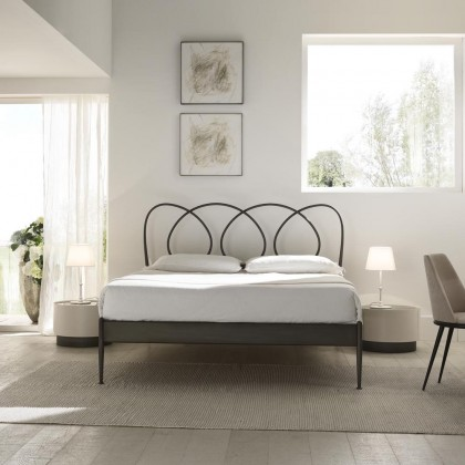 Кованая кровать Реил 1