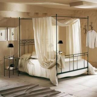 Кованая кровать Рекруни