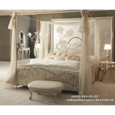 Кованая кровать Ваельма