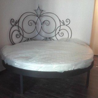 Кованая кровать Энтеа
