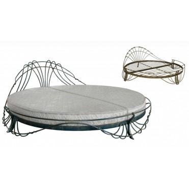 Кованая кровать Фритео