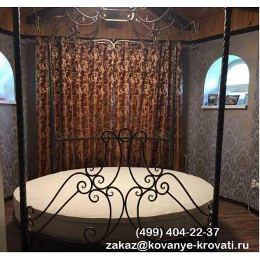 Кованая кровать Гисгрим