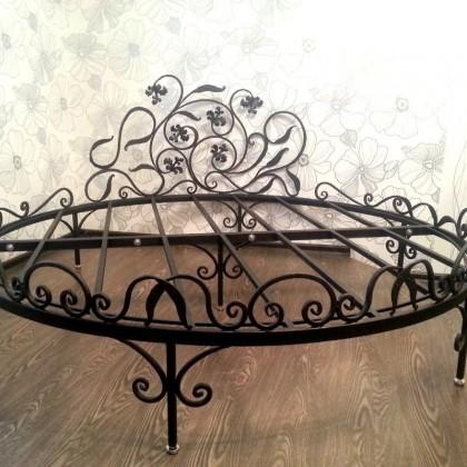 Кованая кровать Мероли 1