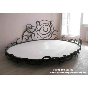 Кованая кровать Трисфе