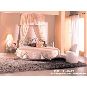 Кованая кровать Вениса