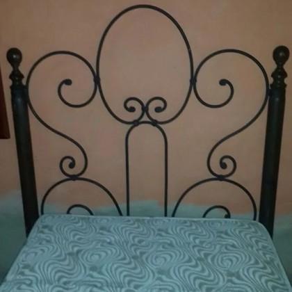 Кованая кровать Альбoвуд 1