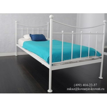 Кованая кровать Альиус