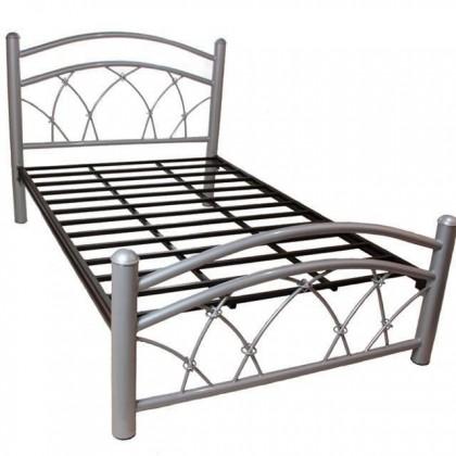Кованая кровать Асра 1