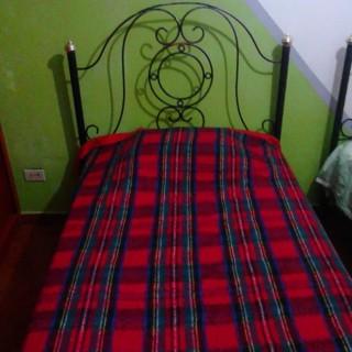 Кованая кровать Брунидри
