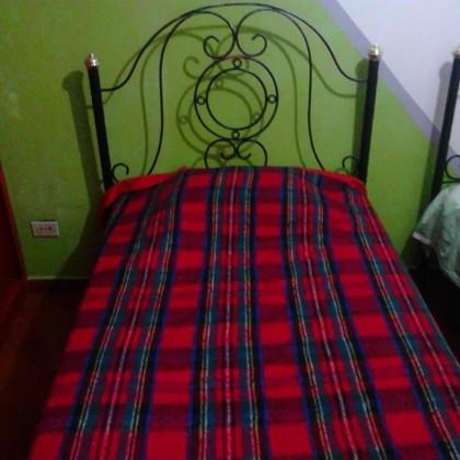 Кованая кровать Брунидри 1