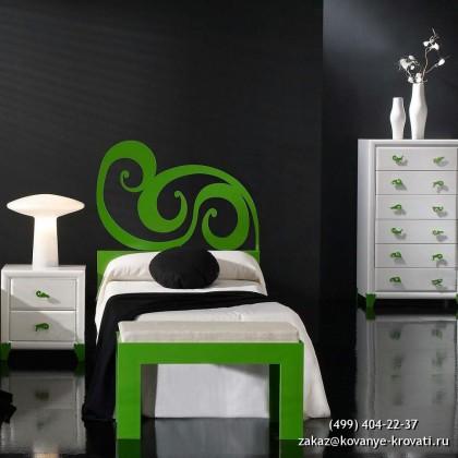 Кованая кровать Эрместани 1