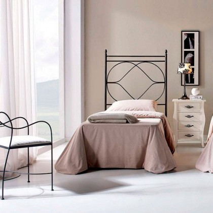 Кованая кровать Этельаб 1