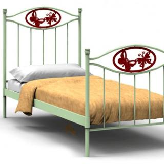 Кованая кровать Иноган