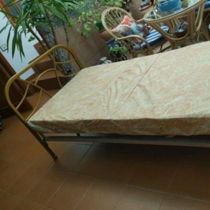 Кованая кровать Скавит 1