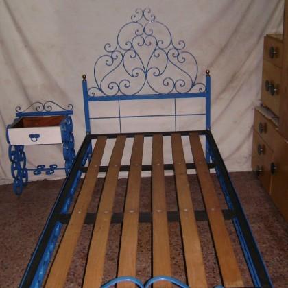 Кованая кровать Теора 1