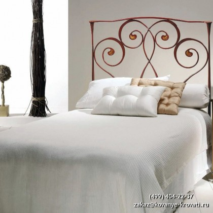 Кованая кровать Трисаль 1