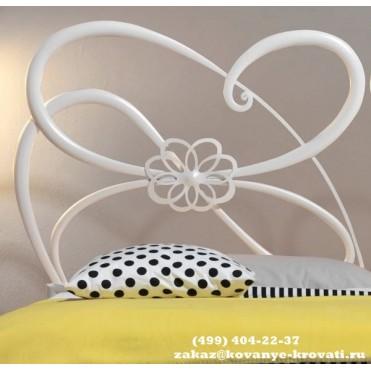 Кованая кровать Аэльия