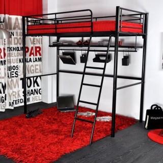 Кованая кровать чердак Мироред