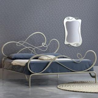 Кованая кровать Ририс